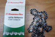 Ремонт Заточка цепи Hammerflex цепь пильная