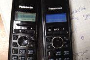 Ремонт Домашний телефон Panasonic 2 телефона