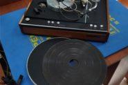 Ремонт Виниловый проигрыватель пластинок Электроника Б11-01