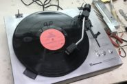 Ремонт Виниловый проигрыватель пластинок Radioyehnika 101
