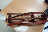 Ремонт Заточка ножа для газонокосилки Нож для газонокосилки ---