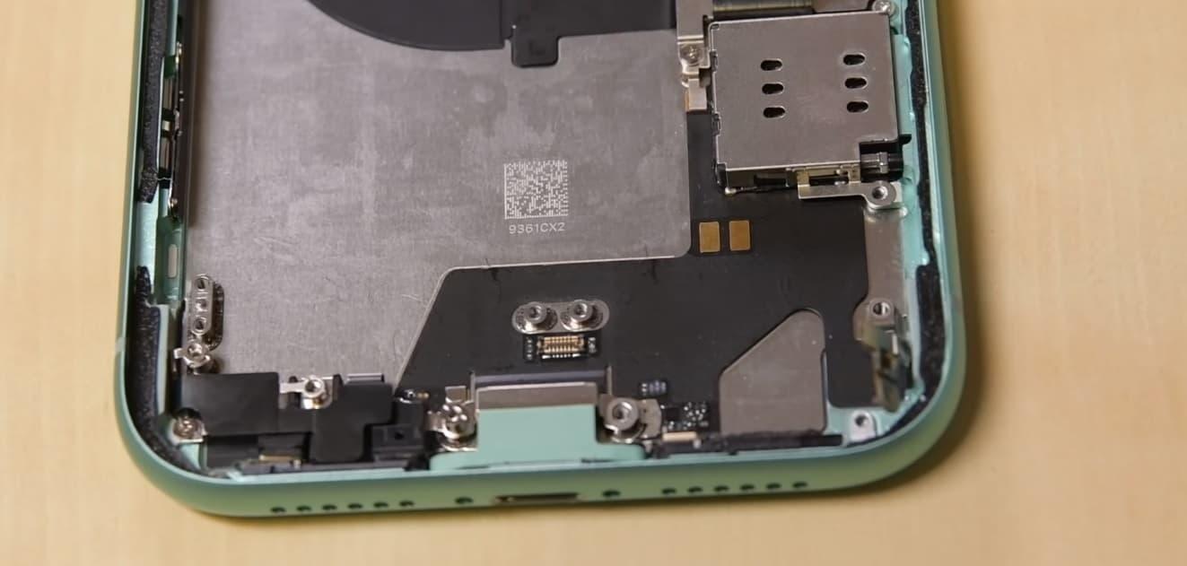 замена разъёма зарядки iPhone 11