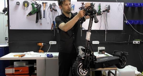 Замена или ремонт тормоза электрического самоката